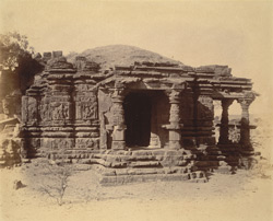 General view from the south of Temple No. 2, Balsane